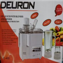 Deuron 3 in 1 Juicer Blender Top Quality Glass Jug