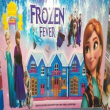 Frozen doll house for kids large size