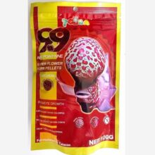 Super Flower Horn Promote Growth of Head High Protein Fish Food 100 Grm