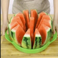 Watermelon Slicer Stainless Steel Melon Cutter Multi Functional LARGE SIZE