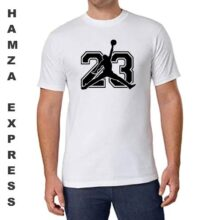 Cotton T shirt Round Neck White Latest Design