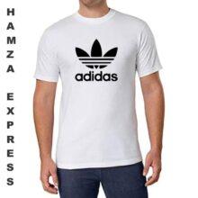 Adidas Cotton T shirt Round Neck White