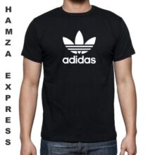Adidas Cotton T shirt Round Neck Black