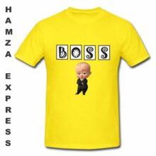 BOSS Cotton T shirt Round Neck LATEST DESIGN