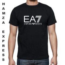 EA7 Cotton T shirt Round Neck LATEST DESIGN