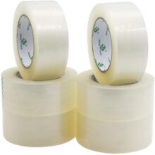 White Transparent Tape 2inch 130Guz PacK Of 6
