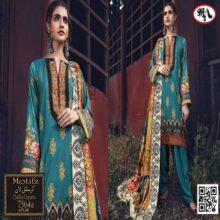 3PC Crystal Lawn Suit With Chiffon Dupatta 7364A