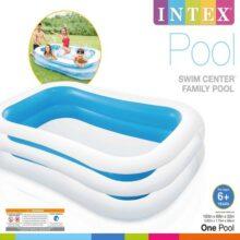 Swimming Pool For kids (INTEX) ( 103″ L x 69″ W x 22″ H ) (56483)