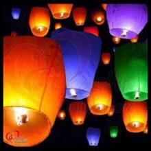 Sky Lantern Pack of 20 Fire Balloon