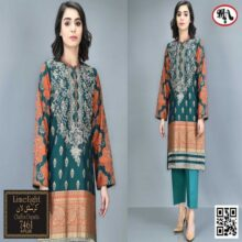 3PC LIMELIGHT Crystal Lawn Suit With Chiffon Dupatta 7461