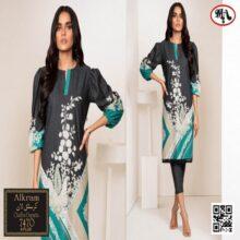 3PC ALKARAM Crystal Lawn Suit With Chiffon Dupatta 7470