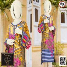 3PC ANAYA Crystal Lawn Suit With Chiffon Dupatta 7491