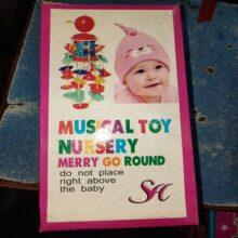 Musical toy nursery Merry go round