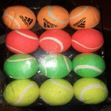 Balls Tennis Balls Cricket Balls 12 Pieces