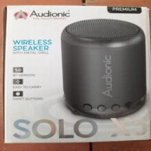 Audionic Wireless Speaker With Metal Grill SOLO X5