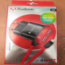 Audionic Dual USB Port Universal Charger S33