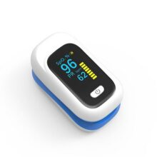 Fingertip Pulse Oximeter Portable 100% Accurte Result + CELL FREE