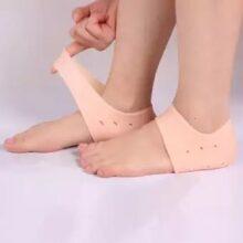 1 Pair Heel Anti Cracks Silicon Pads Feet Care