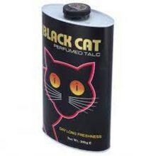 Black Cat Powder Perfumed Talcum 300 gm Large