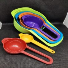 6 Pcs Measuring Cup for Cooking Kitchen Tool