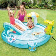 Swimming Pool For kids (INTEX) ( 6'7″ L x 5'7″ W x 2'9″ H ) (57165)