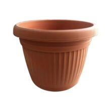 Plastic Pots PACK OF 1 Orange Colour Best Quality