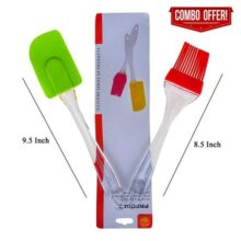 Pack Of 2 – Spatula & Bbq Oil Brush