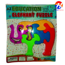 Education Elephant Puzzle Toy For Kids