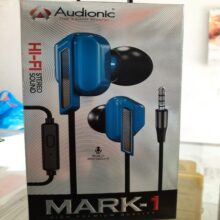 AUDIONIC MARK 1 WIRED EARPHONE HD SOUND QUALITY