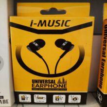 i-Music Universal Earphone Handree