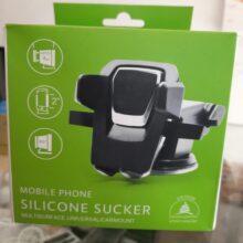 Car Mobile Holder with Silicon Sucker