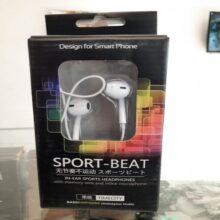 Sport Beat In Ear Sports Headfree Design For Smartphone
