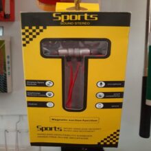 Sports series bluetooth magnetic stereo handfree