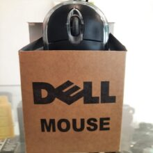 Dell Optical Usb Mouse Plug &Play For Computer, Pc, Laptop