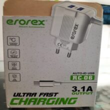 Erorex Ultra Fast Charger 3.1A