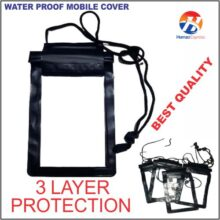 Universal Water Proof Mobile Cover 3 layer protection