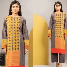 3PC LIMELIGHT Crystal Lawn Suit With Chiffon Dupatta 7510