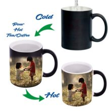 Magic Mug Customized Picture with your Design