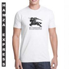 White Cotton Tshirt New Design BY HAMZA EXPRESS