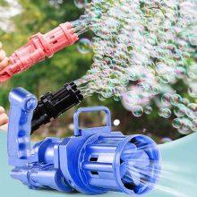 Plastic Electric Bubble Gun Machine Children Bath Toys BY HAMZA EXPRESS
