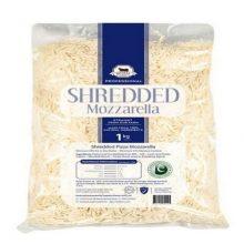 Shredded Mozarella 1KG BY HAMZA EXPRESS